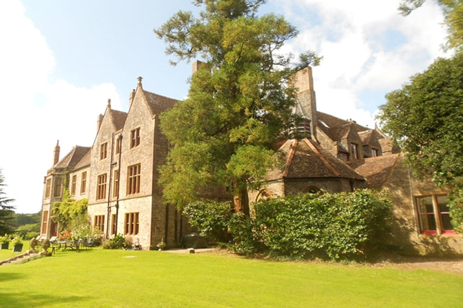 Huntsham Court from Garden