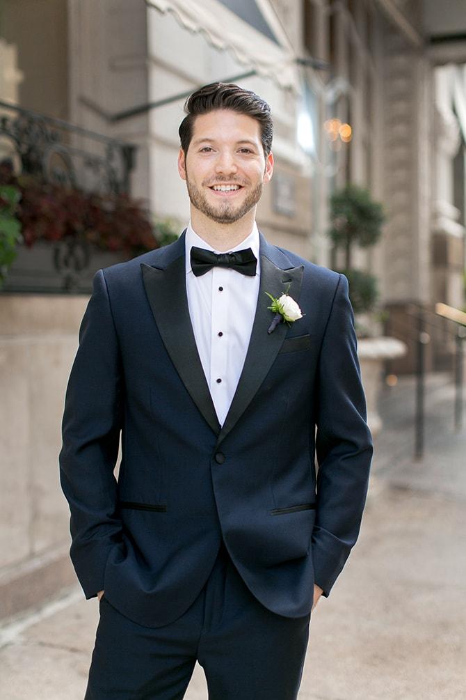 Groom before wedding | Sophisticated New Orleans Nuptials | Arte De Vie