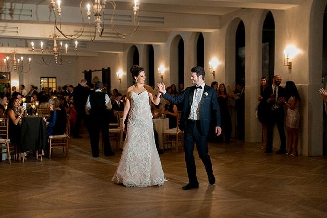 First dance | Sophisticated New Orleans Nuptials | Arte De Vie