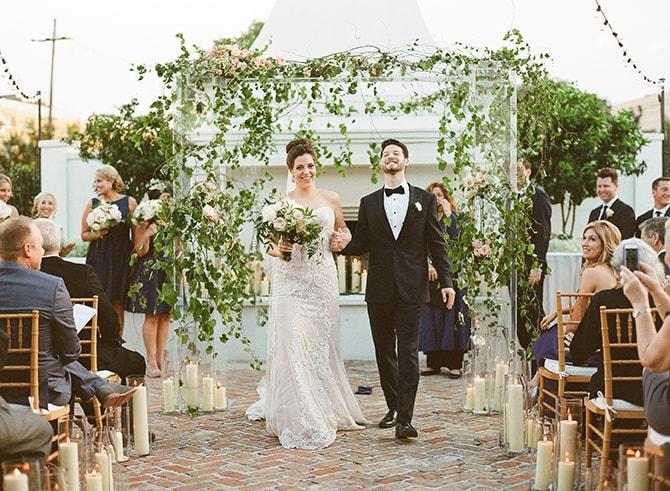 Married couple | Sophisticated New Orleans Nuptials | Arte De Vie