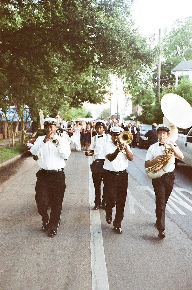 Wedding band | Sophisticated New Orleans Nuptials | Arte De Vie