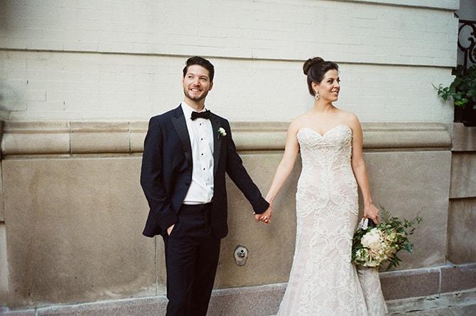 Bride and Groom | Sophisticated New Orleans Nuptials | Arte De Vie