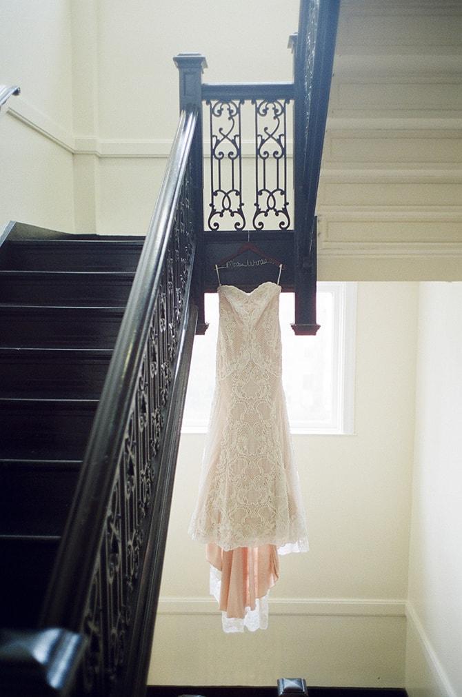 Dress | Sophisticated New Orleans Nuptials | Arte De Vie