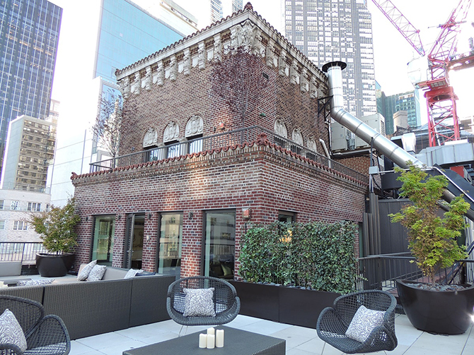 New York Roof Terrace | The Penthouse at The Quin Review