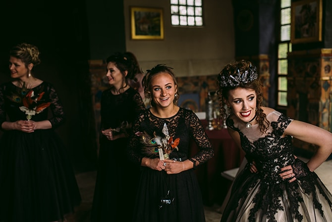 Dark Romance at Fonthill Castle | Hansen Photography