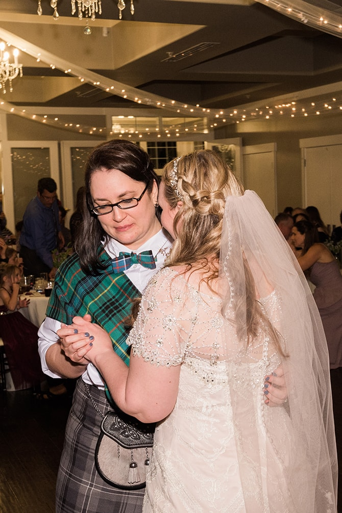 Brides first dance | Scottish Inspired Wedding in Utah | Derek Chad Photography