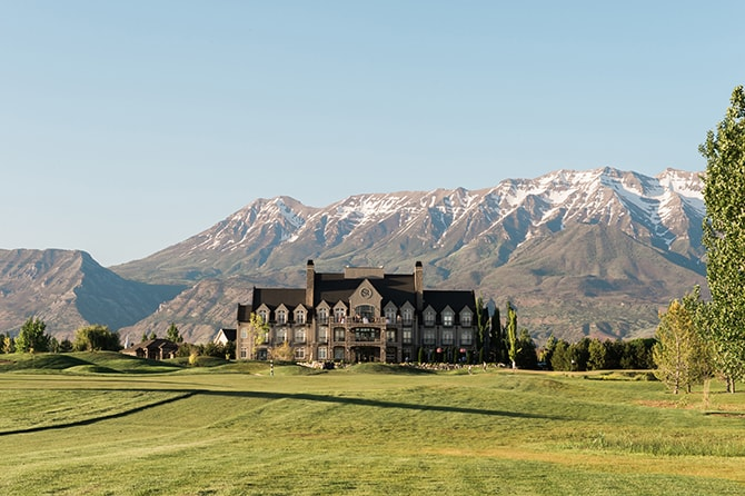 Sleepy Ridge Golf Course | Scottish Inspired Wedding in Utah | Derek Chad Photography