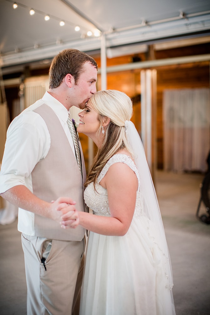 Couple dancing | Stylish and Modern Farm Wedding | Amanda May Photos