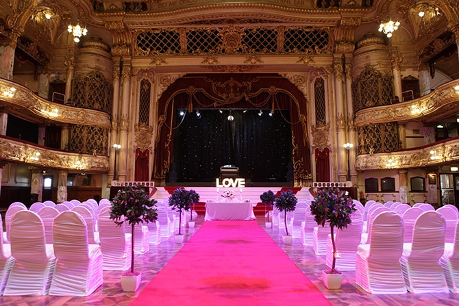 The Blackpool Tower Weddings