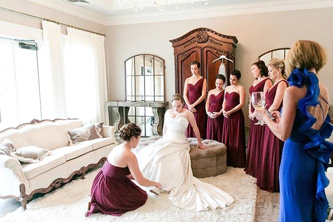 Contemporary Garden Wedding in Missouri | Robyn Osten Photography