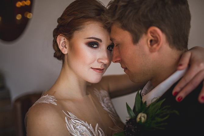 Modern bride and groom | Distilled Love | Kirsten Stanley Productions
