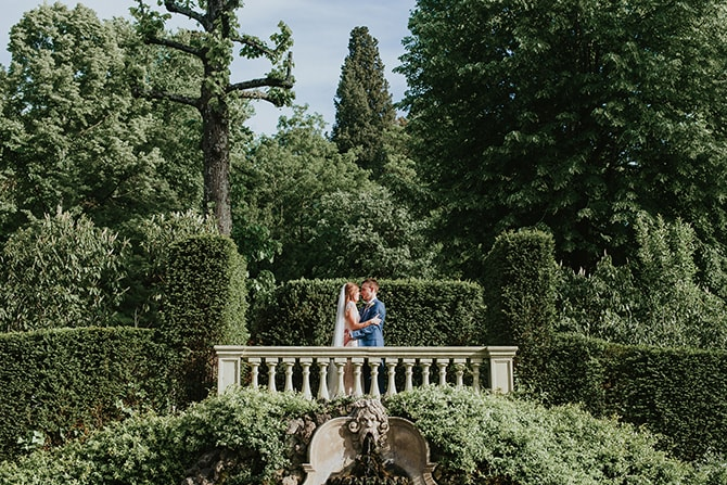 Elegant Garden Wedding in Florence | Malagoli Wedding Stories