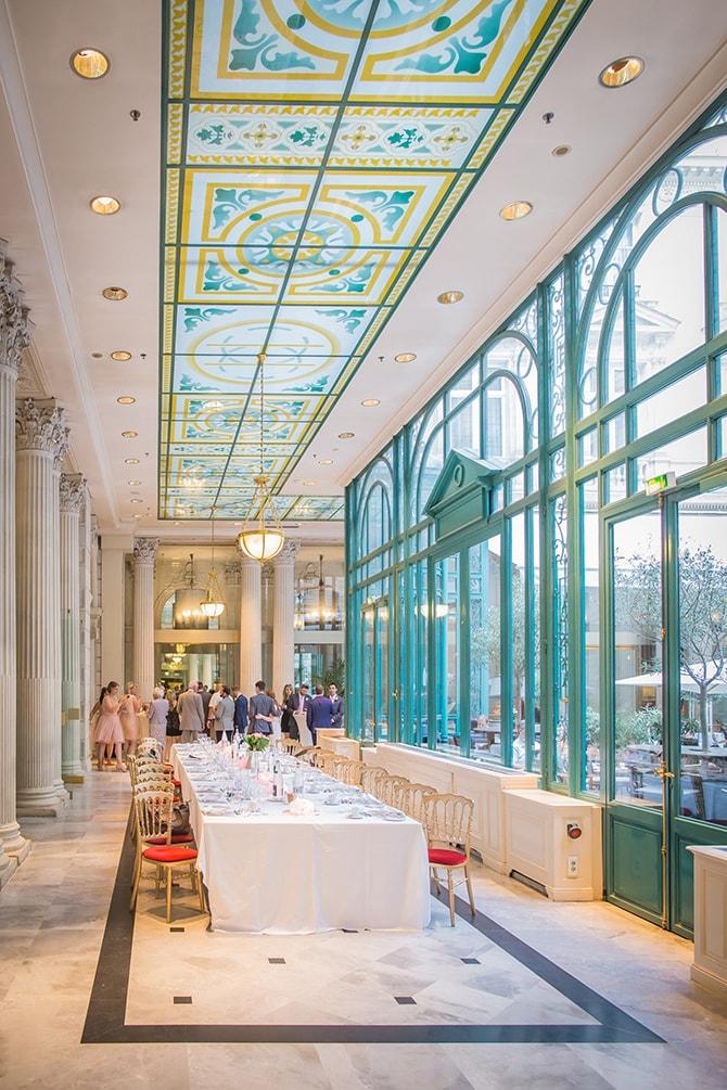Wedding reception in France | Travel Themed Intimate Wedding in Paris - Paris Photographer Pierre