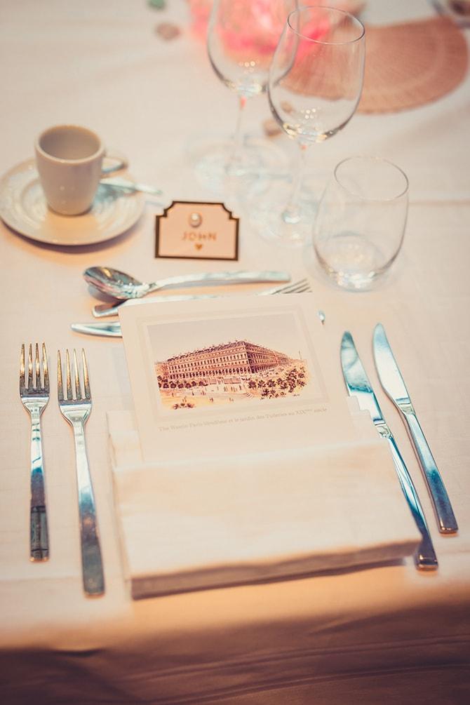 Travel themed wedding favour | Travel Themed Intimate Wedding in Paris - Paris Photographer Pierre