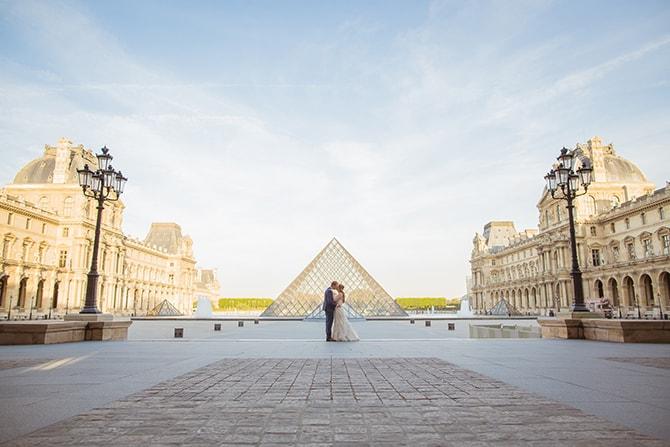 Wedding in France | Travel Themed Intimate Wedding in Paris - Paris Photographer Pierre