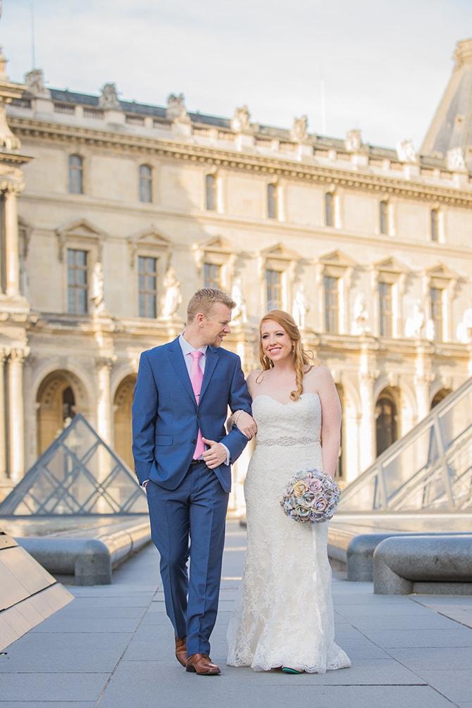 Paris wedding | Travel Themed Intimate Wedding in Paris - Paris Photographer Pierre