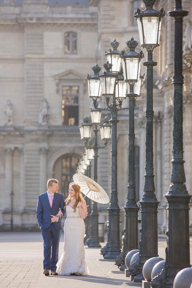 Couple in Paris | Travel Themed Intimate Wedding in Paris - Paris Photographer Pierre