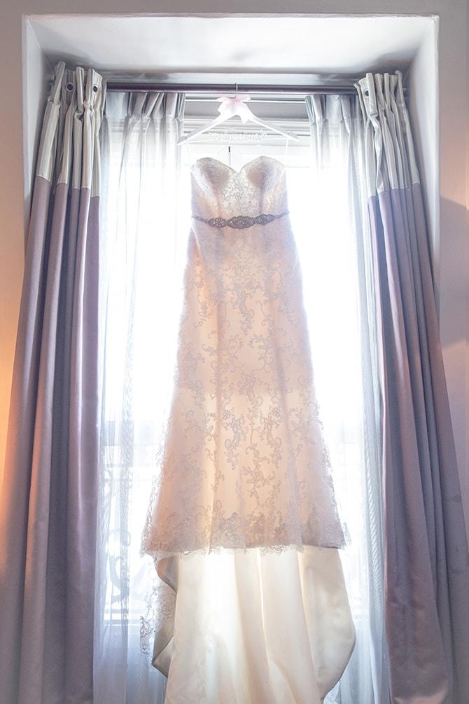 Wedding dress | Travel Themed Intimate Wedding in Paris - Paris Photographer Pierre