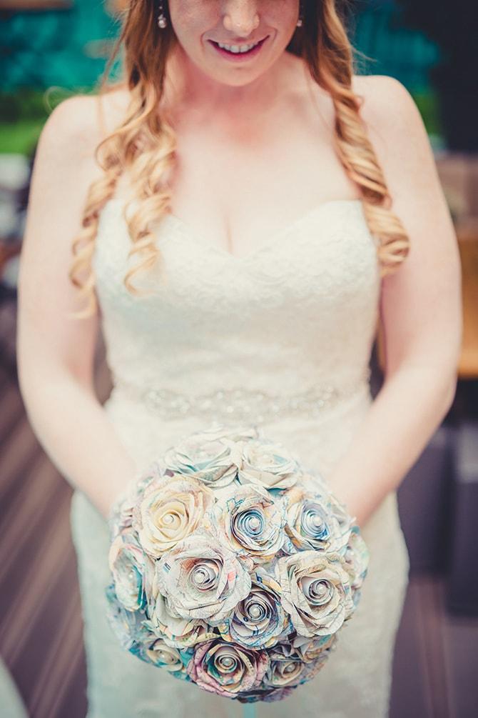 Bride before wedding | Travel Themed Intimate Wedding in Paris - Paris Photographer Pierre