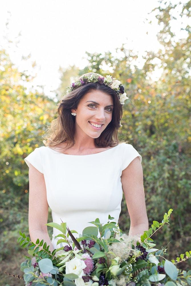 Bride | DIY Backyard Wedding in South Carolina | Jessica Hunt Photography