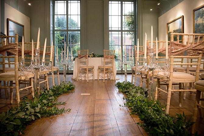 Wedding ceremony at Bucks County Museum | Beautiful Countryside Wedding Inspiration in Buckinghamshire | KLP Photography