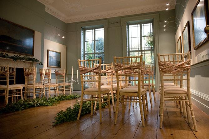 Wedding ceremony rustic decor | Beautiful Countryside Wedding Inspiration in Buckinghamshire | KLP Photography
