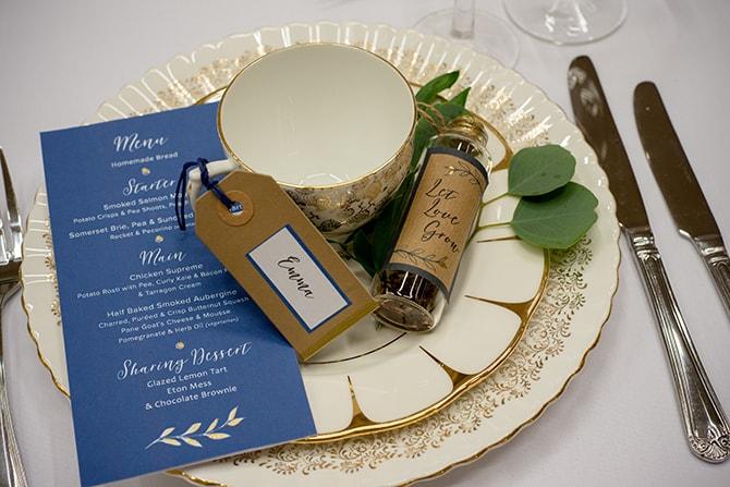 Wedding favour | Beautiful Countryside Wedding Inspiration in Buckinghamshire | KLP Photography