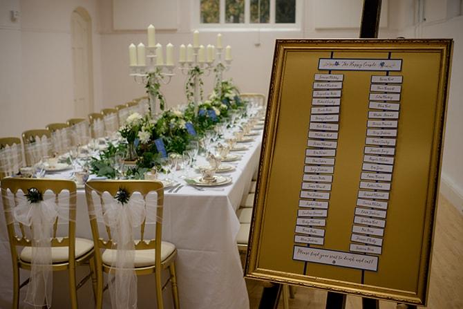 Wedding setup | Beautiful Countryside Wedding Inspiration in Buckinghamshire | KLP Photography
