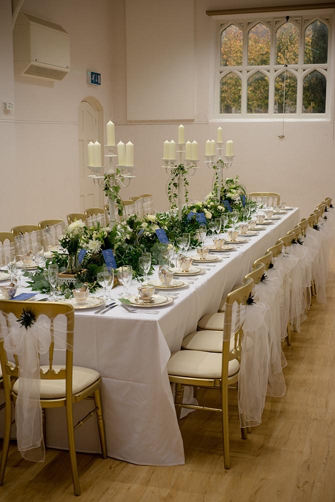 Wedding reception | Beautiful Countryside Wedding Inspiration in Buckinghamshire | KLP Photography