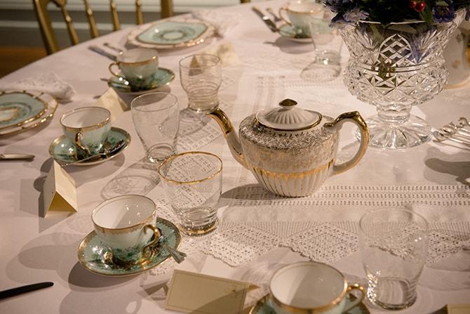 Afternoon tea | Beautiful Countryside Wedding Inspiration in Buckinghamshire | KLP Photography