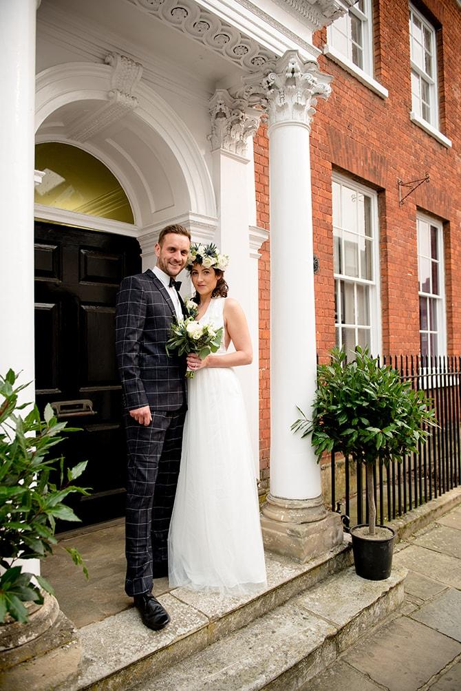 Bride and groom in Buckinghamshire | Beautiful Countryside Wedding Inspiration in Buckinghamshire | KLP Photography