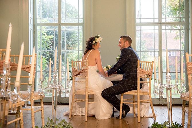 Wedding ceremony | Beautiful Countryside Wedding Inspiration in Buckinghamshire | KLP Photography