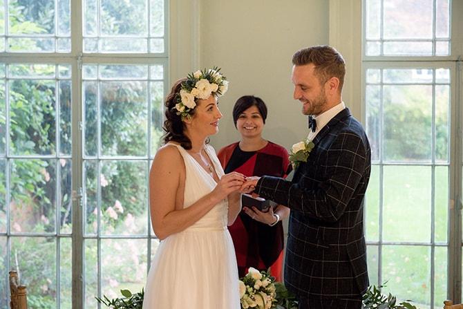 Bucks County Museum Wedding Ceremony | Beautiful Countryside Wedding Inspiration in Buckinghamshire | KLP Photography
