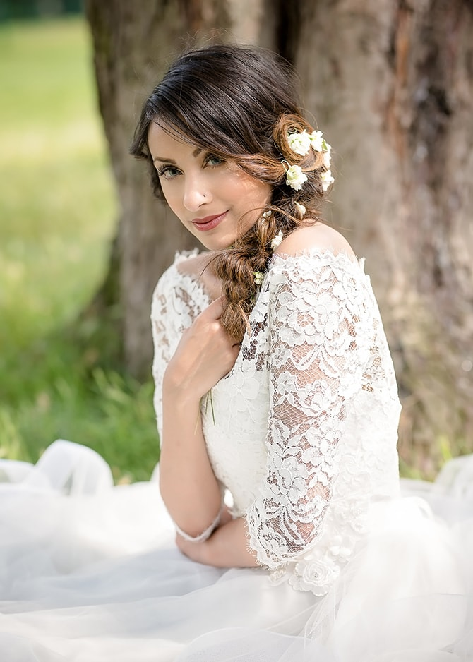 Beautiful bride | Contemporary Summer Bridal Inspiration