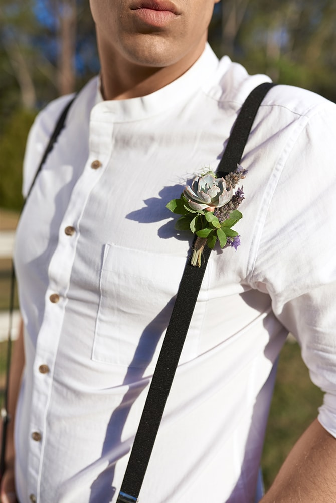 Stylish modern groom outfit | Luxury Country Garden Boho | Sephory Photography