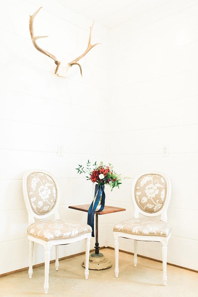 Chairs and table | A Very Boho Christmas | Kayla Duffey Photography