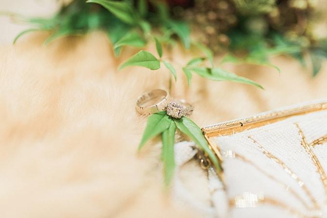 Wedding rings | A Very Boho Christmas | Kayla Duffey Photography