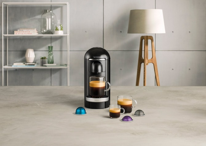 Nespresso Vertuo Coffee Machine Product Lifestyle Image