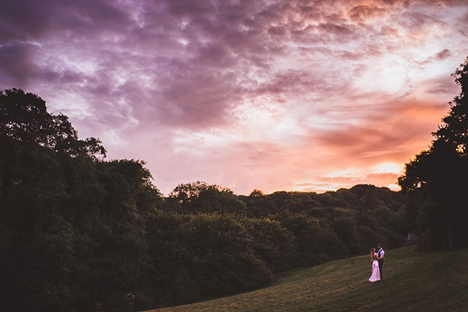 Couple at Sunset - Steal The Day Photography