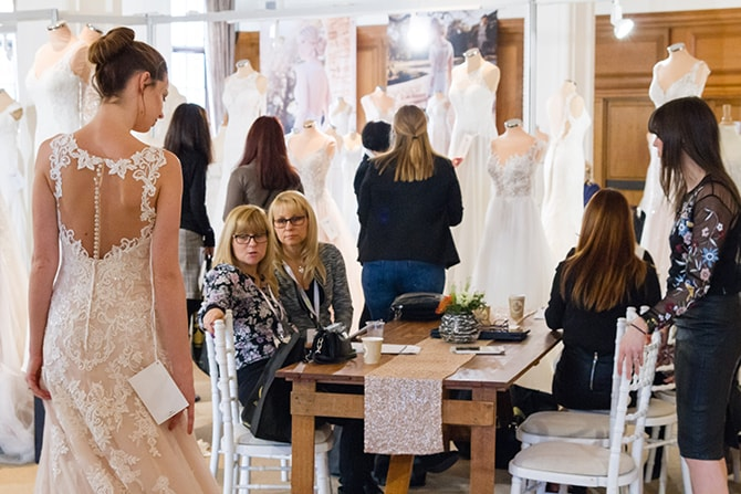 London Bridal Week 2018 Bridal Gown Viewings