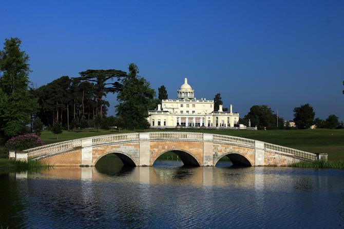 Stoke Park Mansion and Bridge