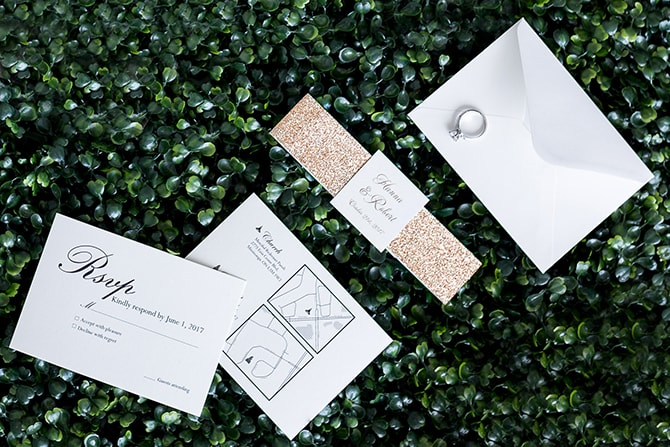 Wedding invitations | The Avant-garde Bride | Motion D Photography