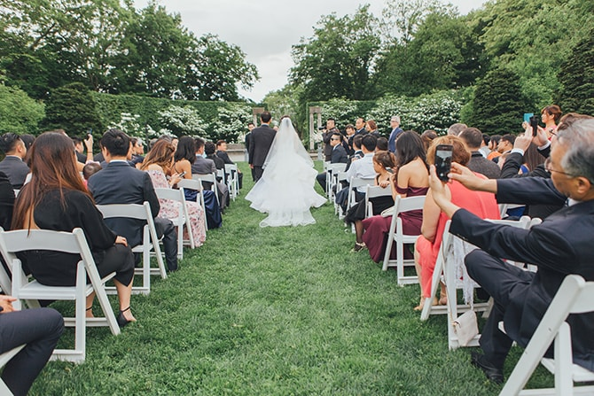 Alfresco ceremony