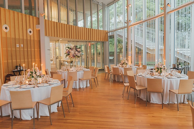 Brooklyn Botanic Garden Wedding Space