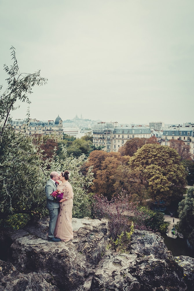 Whimsical Autumnal Elopement in Paris