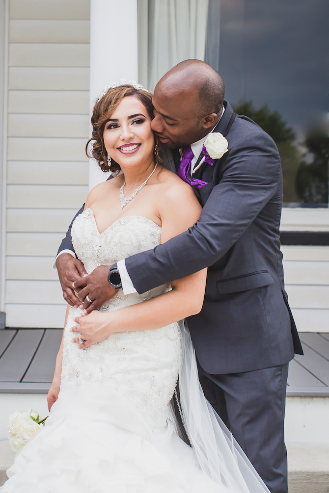 Couple in love | Glamorous Multicultural Wedding in Kansas City