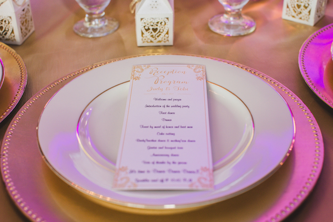 Gold style wedding stationery | Glamorous Multicultural Wedding in Kansas City
