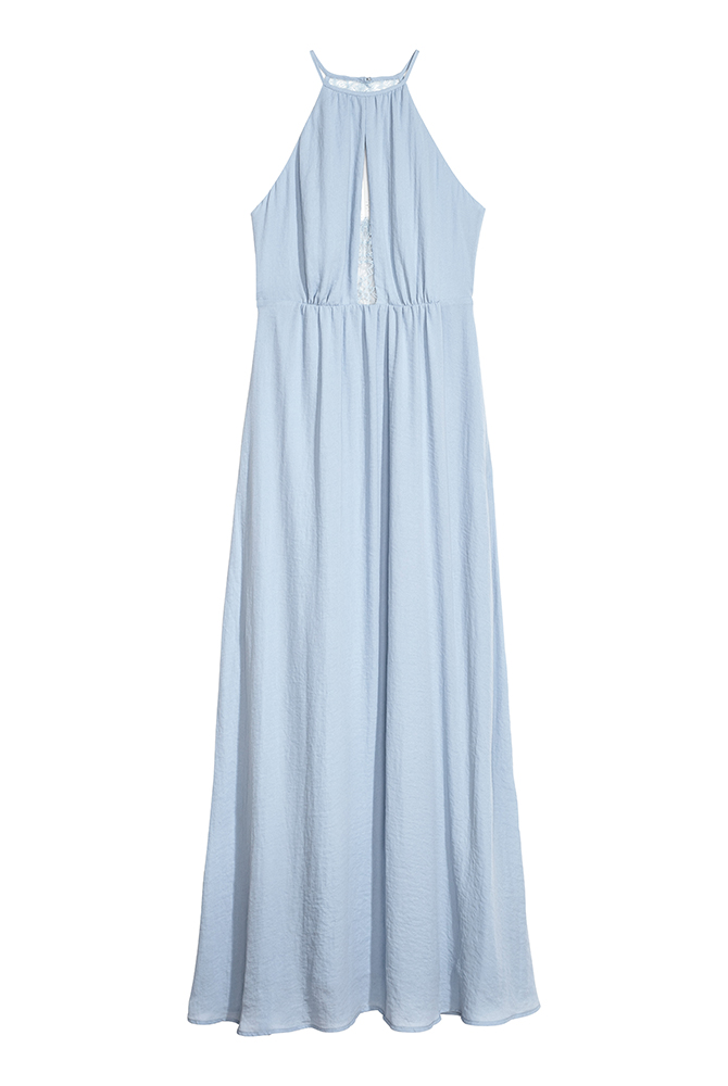 Bridesmaids Dress Long Blue Dress