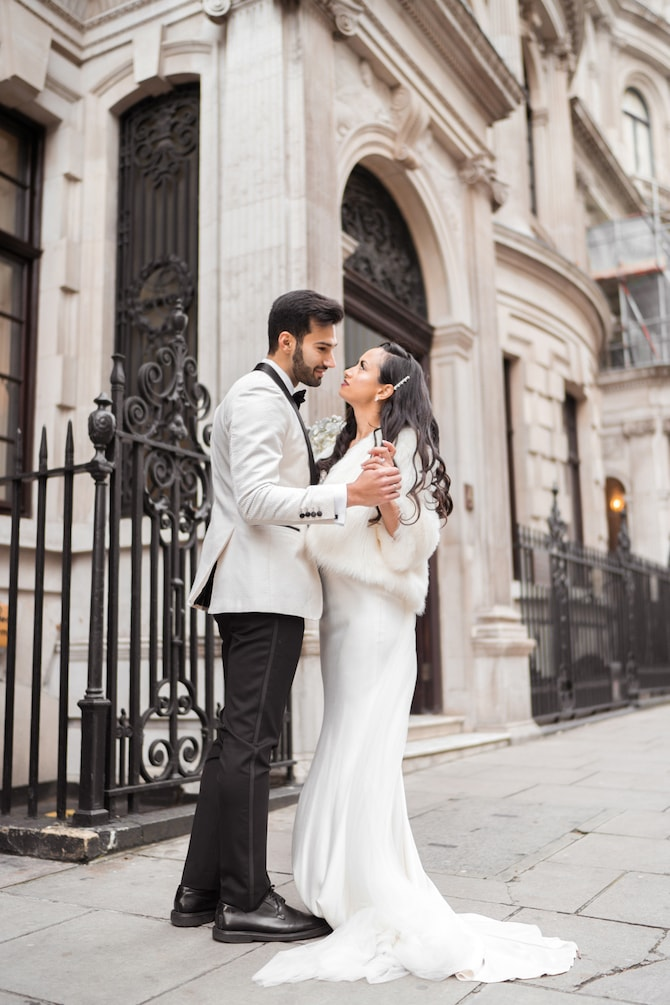 Wedding at No.4 Hamilton Place | Modern Monochrome Style in Mayfair