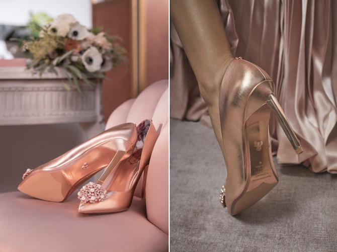 Ted Baker Bridal Shoe Personalisation